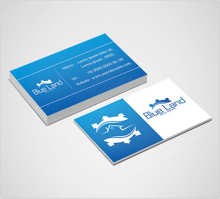 Business card design company dubai business card designers in uae building company reheart Image collections